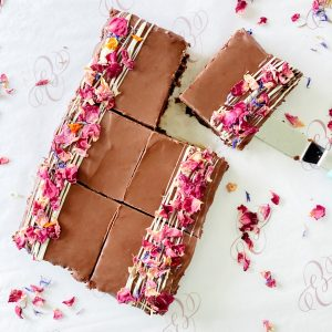 luxury chocolate brownies by post, lockdown treats or employee gifts. Perfect for Mother's day, birthdays, and all occasions.